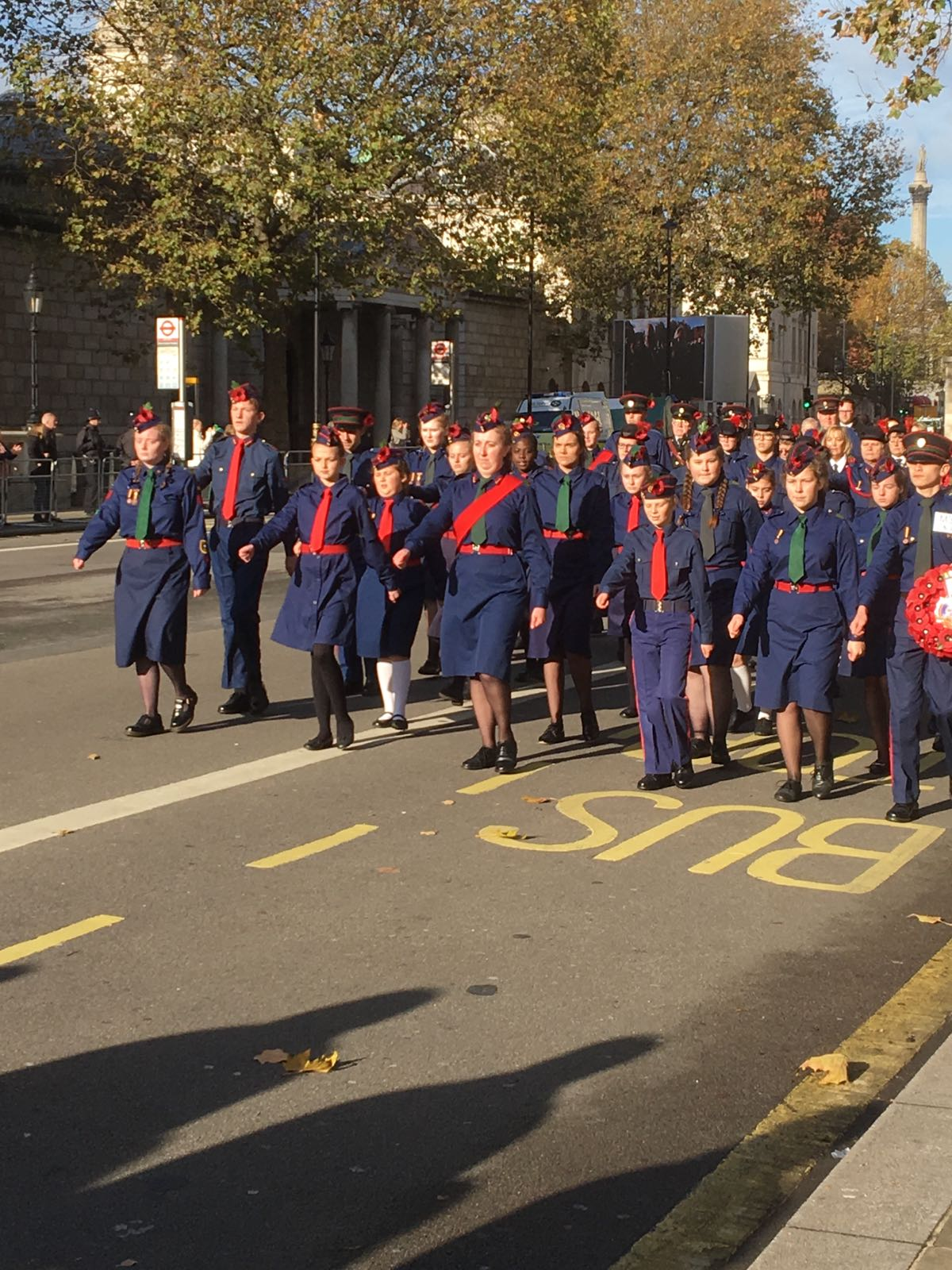 Remembrance Service at the Cenotaph with St James Alperton