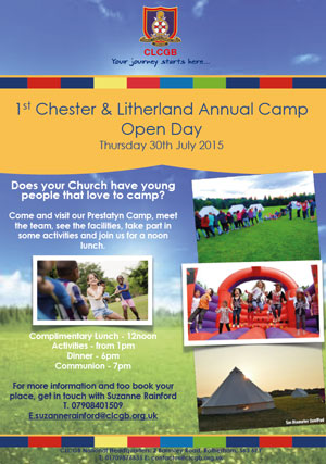1st Chester & Litherland Annual Camp Open Day