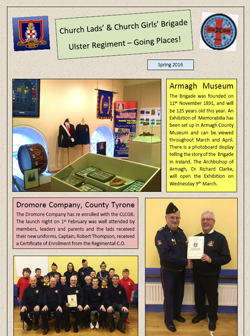 Ulster Regiment - Going Places! Newsletter Spring 2016