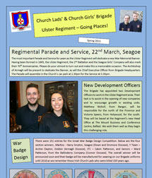 Ulster Regiment Newsletter Spring 2015